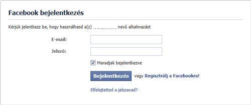 Facebook.Hu Belépés