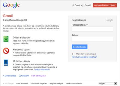 Www.Gmail.Com Bejelentkezés