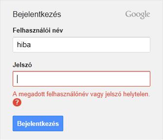 0292dc2f23 Hiba a Gmail bejelentkezés során