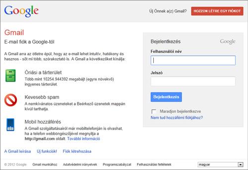 Gmail BejelentkezГ©s