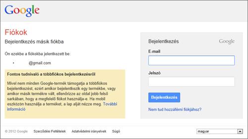 Com Belépés Gmail